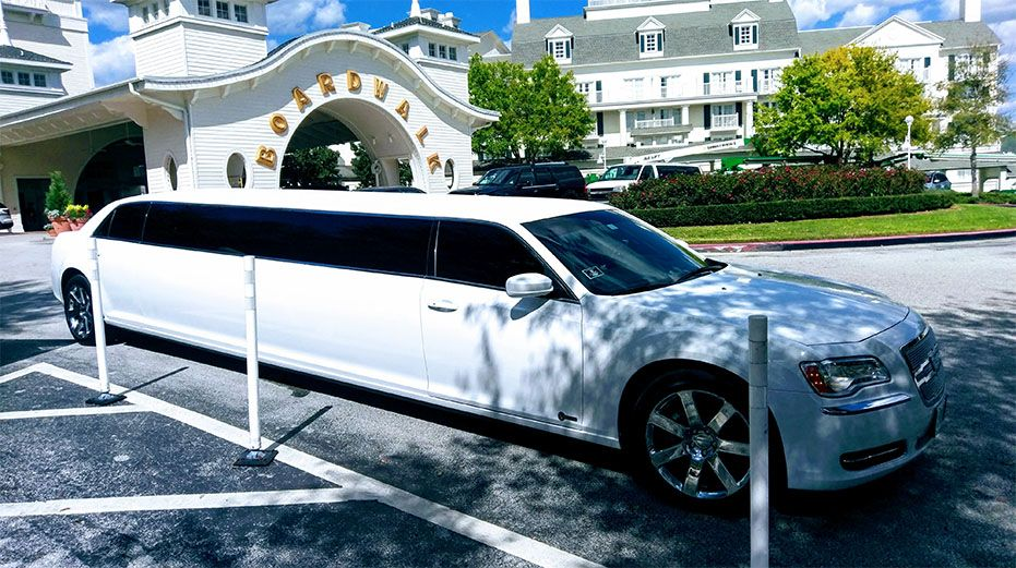 10 Passenger Stretch Limousine Disney