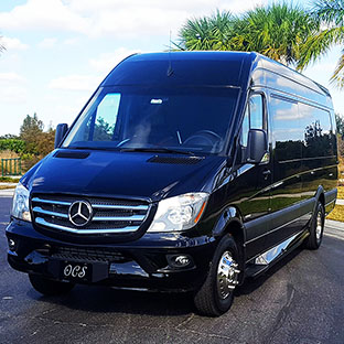 Sprinter Limo Rental - Orlando, Florida