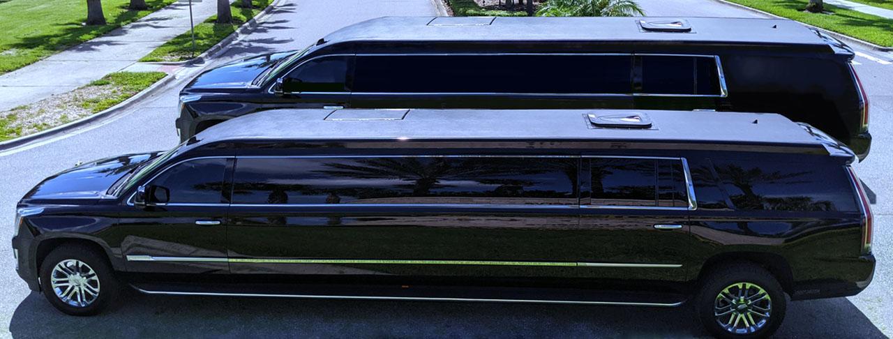 <span style='background-color:#000;border-radius:6px;'>SUV Limousines!</span>