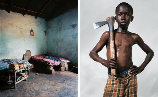 Lamine 12 Bounkiling village Senegal
