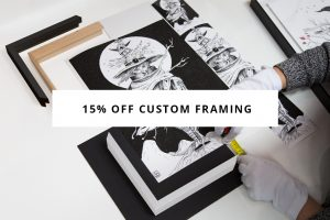 Orms Print Room & Framing: 15% off Custom Framing