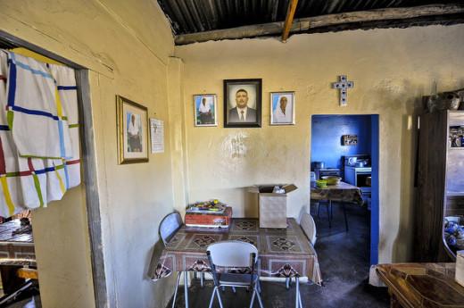Mier in die Noord Kaap ontvang TV en Radioseine