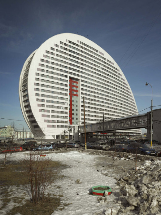 Parus Building, Moscow, 2007/2010