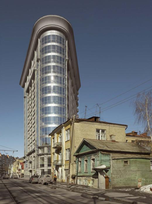 Samarian Flatiron , Samara, 2011