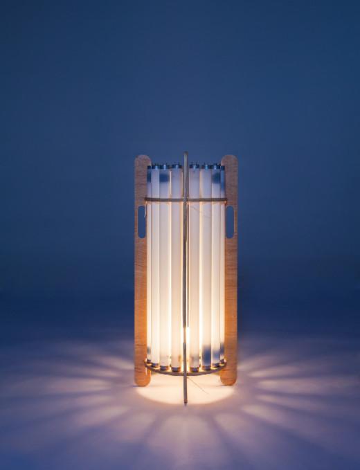 Mauricio Arruda Fluor Lamp