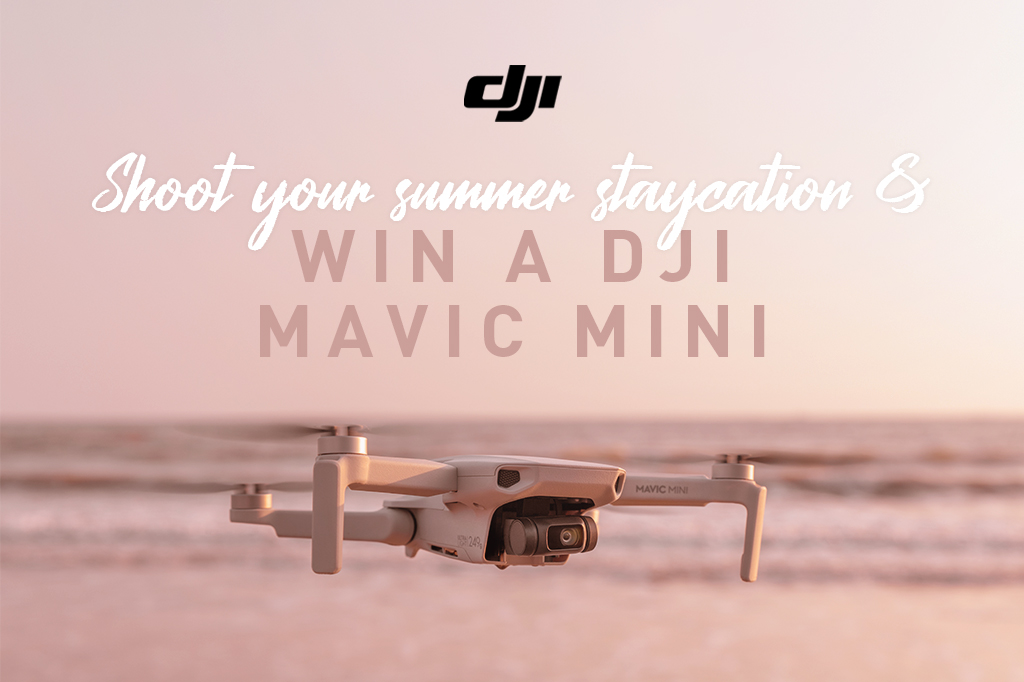 Shoot Your Summer Staycation & Win With Orms & DJI