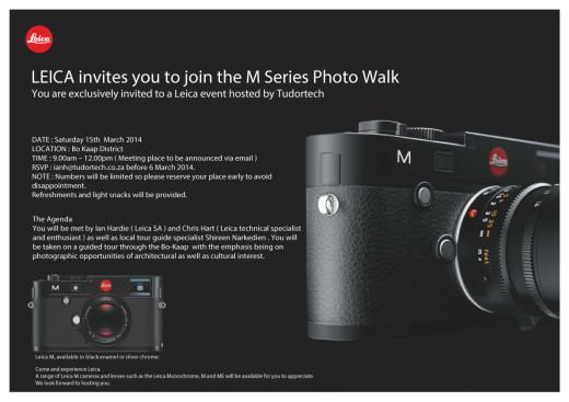 Leica Photo Walk