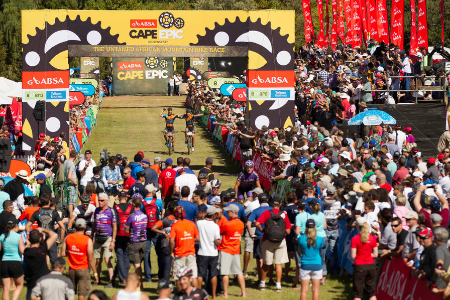 Absa Cape Epic 2012 Stage 7 Elgin Valley to Lourensdford Wine Estate