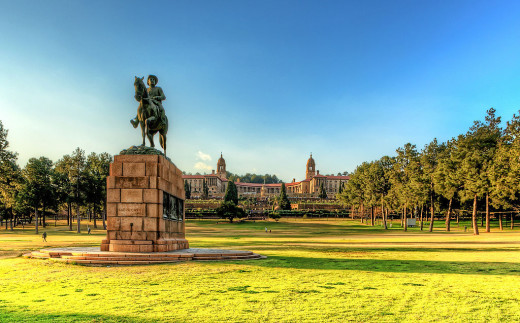 Union Buildings by Robbie Aspeling