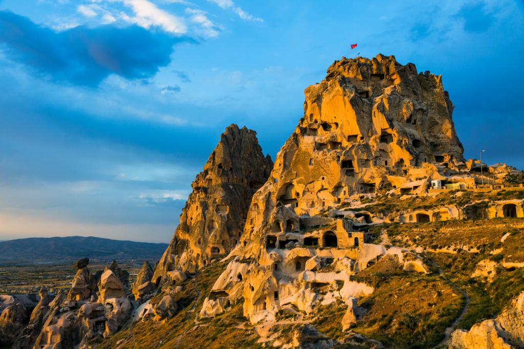 Cappadocia -  Uchisar Castle