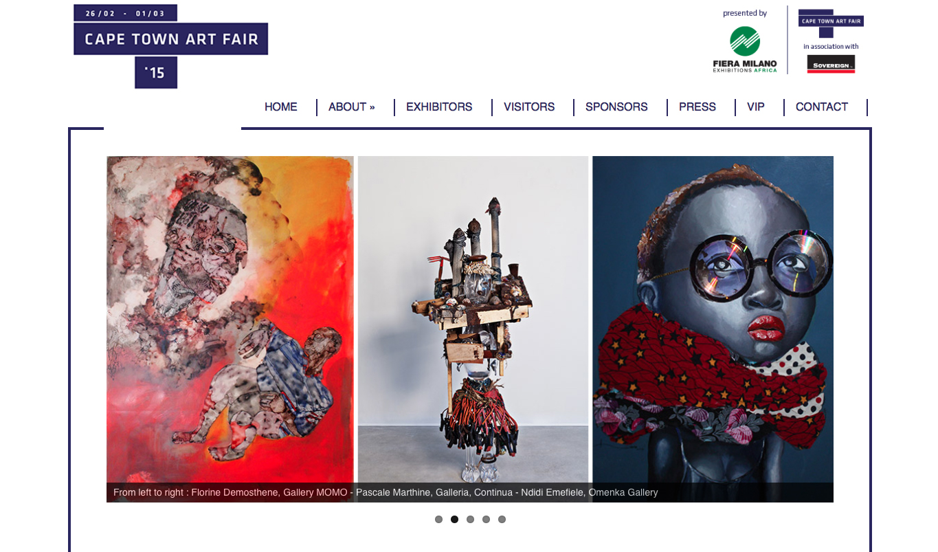 A Weekend Of Art Cape Town Art Fair 2015