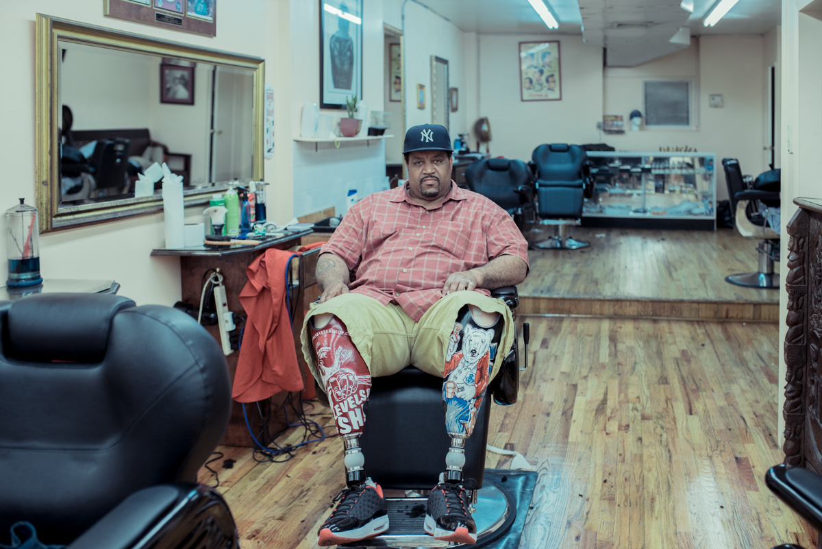 Photography Inspiration: New York City barber shops by Franck Bohbot, featured on Orms Connect Photography Blog South Africa