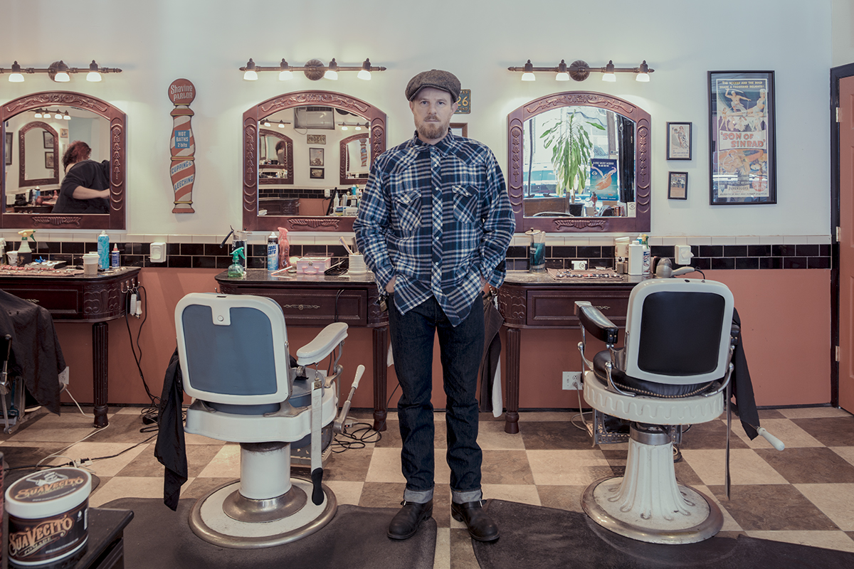 Urban Portrait Photography Inspiration: New York City barber shops by Franck Bohbot, featured on Orms Connect Photography Blog South Africa