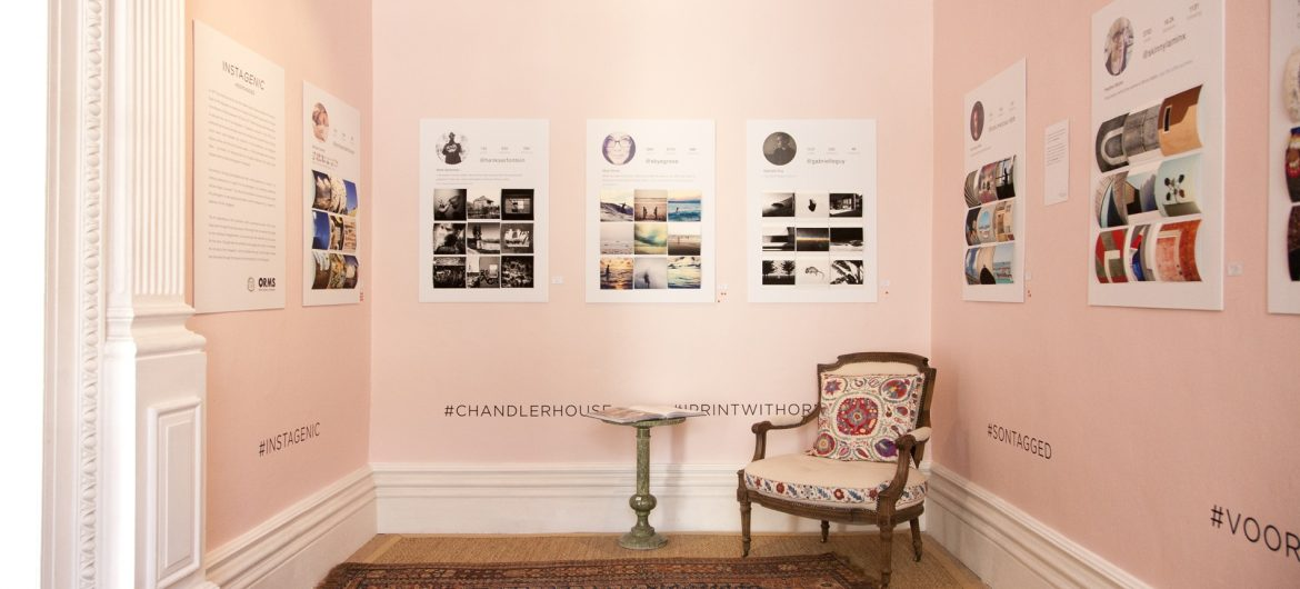 Instagenic Exhibition at Chandler House Cape Town, Pinting by Orms Print Room and Framing