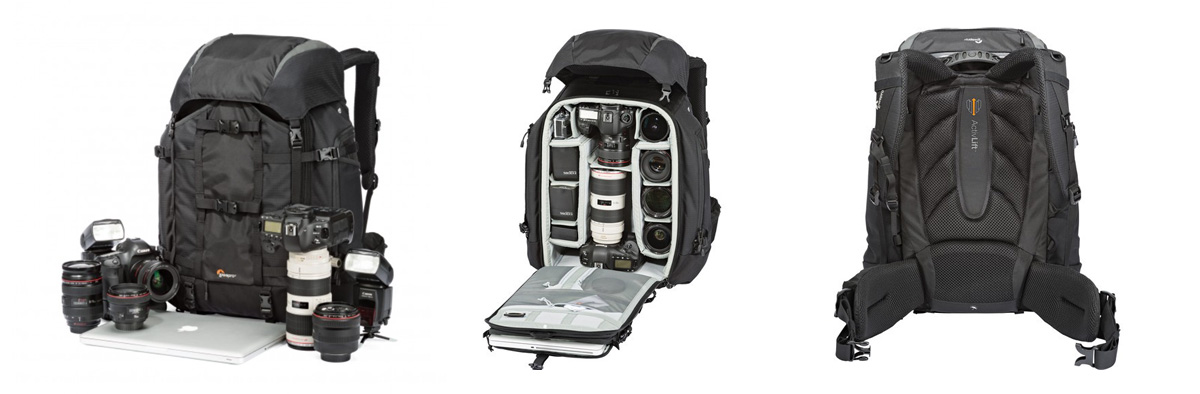 LowePro Pro Trekker 450AW Camera Bag Series available from Orms Photography Warehouse Cape Town