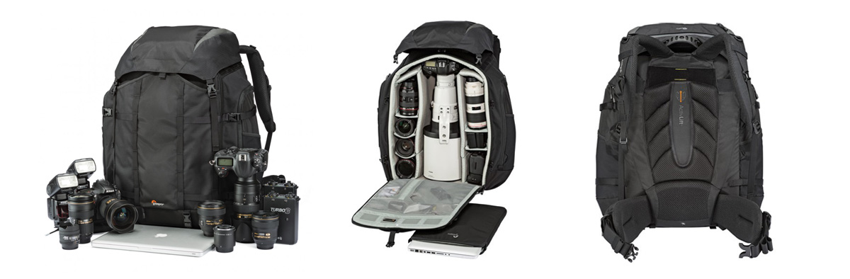 LowePro Pro Trekker 650 AW Camera Bag Series available from Orms Photography Warehouse Cape Town