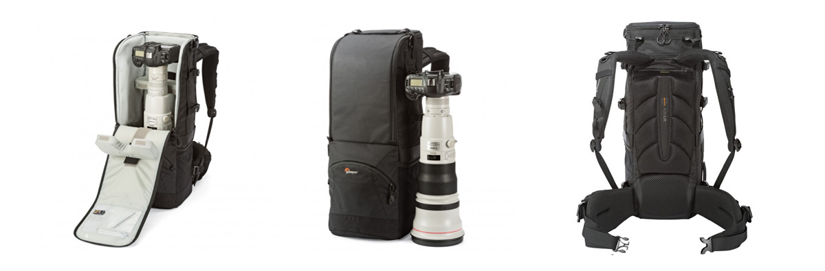 LowePro Lens Trekker 600 AW III Camera Bag Series available from Orms Photography Warehouse Cape Town