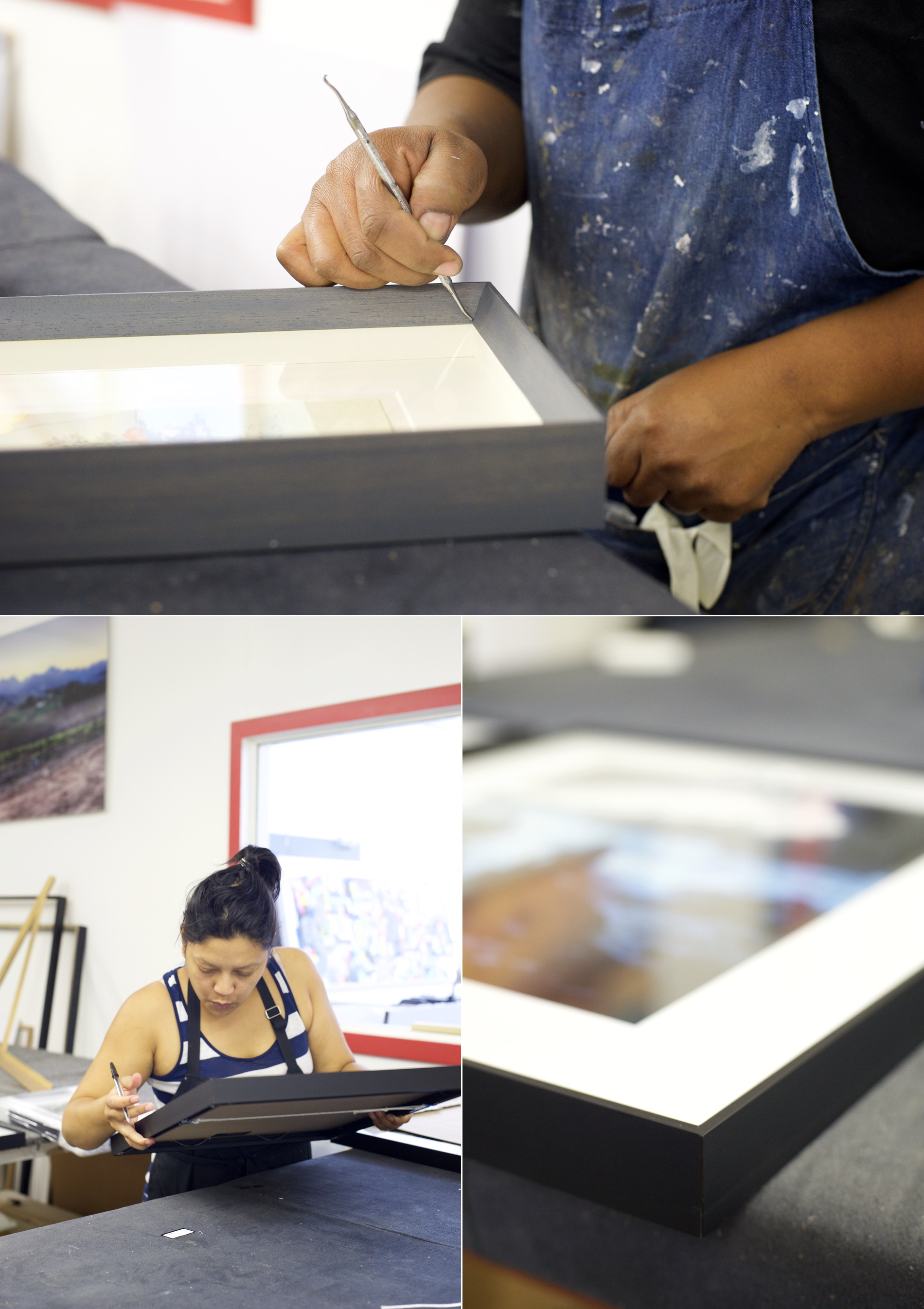 Inside the Orms Picture Framing factory in Cape Town | on Orms Connect Photographic Blog