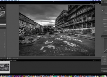 Black and White Photography Tutorial on Lightroom
