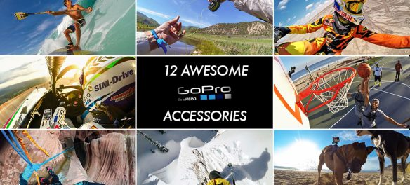 12 of our favourite GoPro accessories available on Orms Direct, Cape Town.