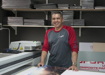 Orms Staff Interview Andre Eksteen Large format Printing