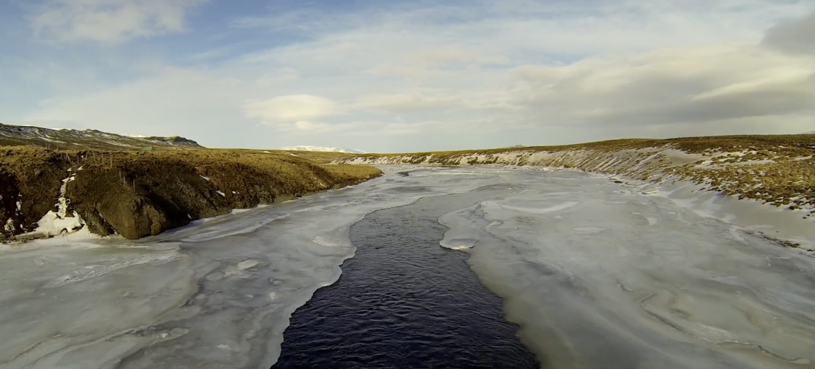 DJI Phantom II drone flight through Iceland on Orms Connect Photographic Blog