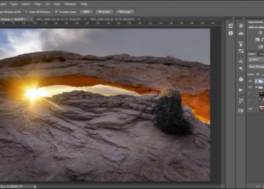 Photoshop Tutorial: Luminosity Mask Workflow and Removing Lens Flare