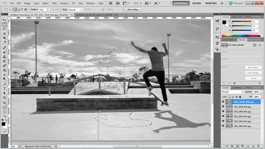 How to shoot and compile action sequences in Adobe Photoshop, on Orms Connect Photographic Blog