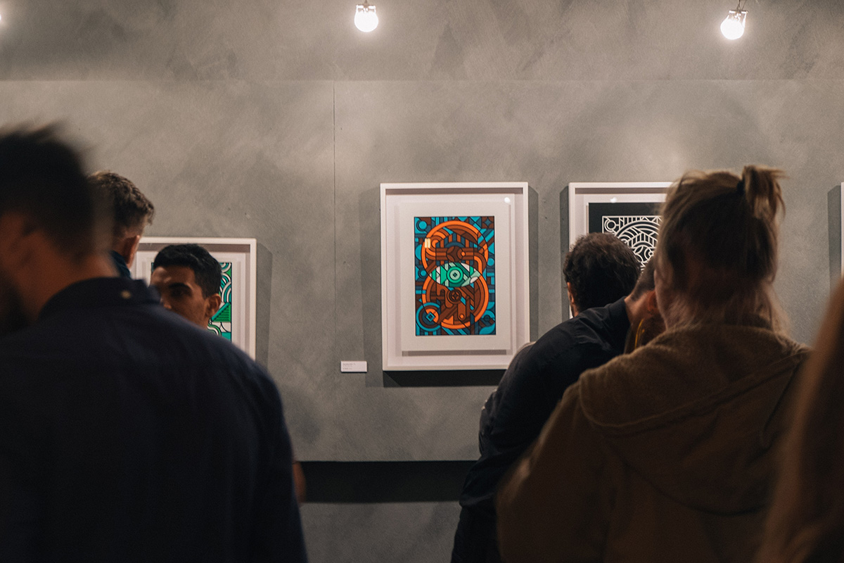 Exhibition by Si Maclennan