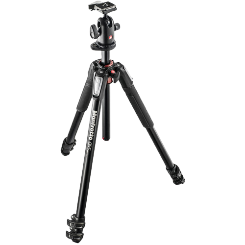 Manfrotto MK055XPRO3-BH Tripod with 498RC2 Ball Head