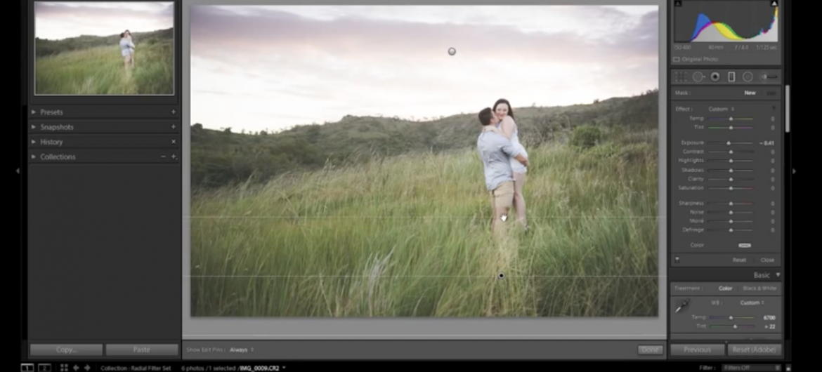Tutorial: Using radial adjustments in Lightroom - on Orms Connect Photography Blog