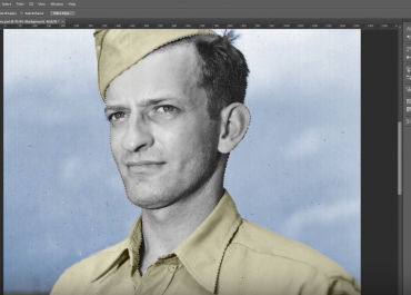 Photoshop Tutorial: How to colourise black and white images in Adobe Photoshop.