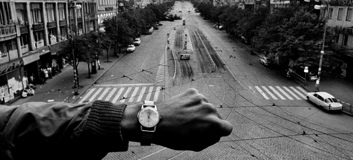 Screenshot from The Art of Photography video on Josef Koudelka on Orms Connect Photographic Blog