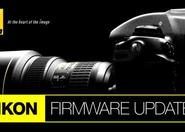 Nikon Firmware updates
