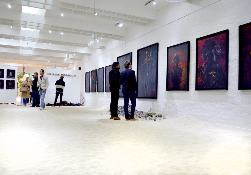 Krisjan Rossouw Exhibition framed by Orms Print Room and Framing