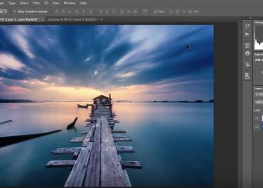 Photoshop Tutorial: Adding impact to your sunrise and sunset images