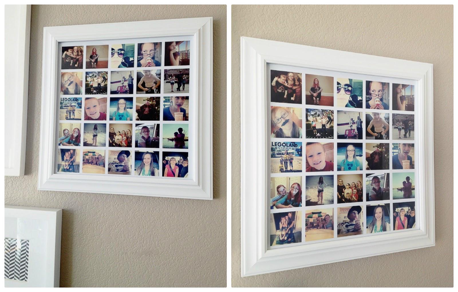 Framing your instagram images