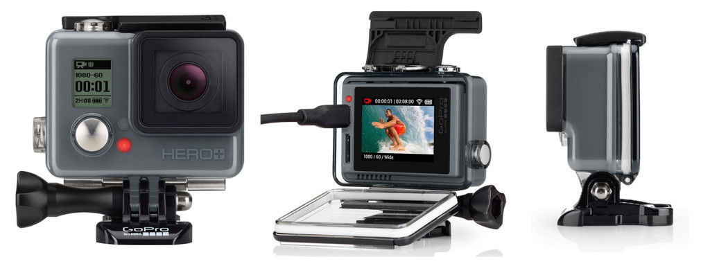 GoPro Hero+ LCD now available at Orms, Cape Town