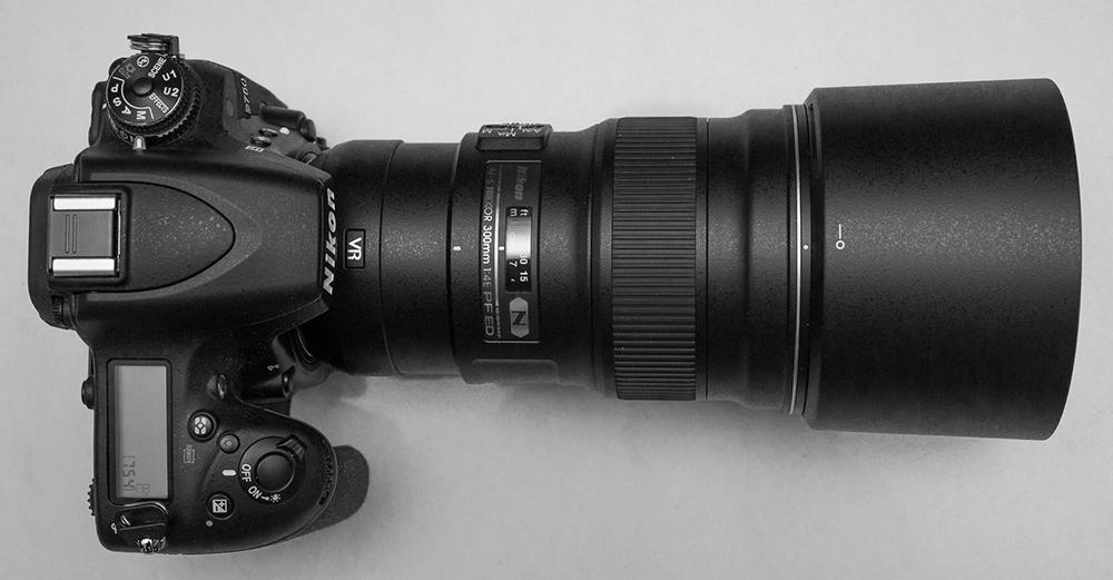 AF-S 300mm f/4E PF ED VR on D750