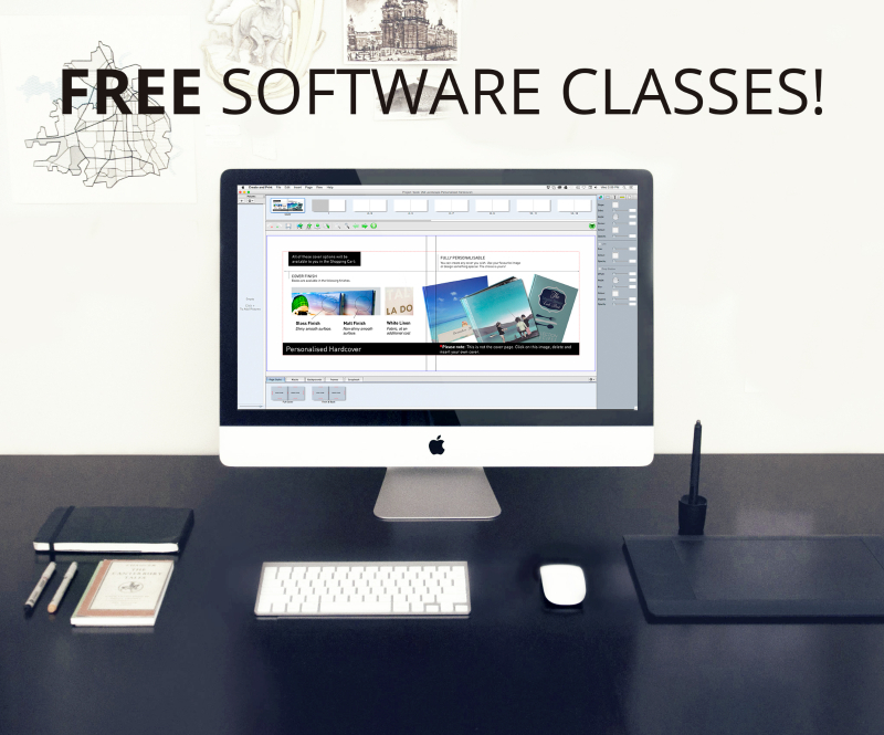 Free book layout software classes at Orms Print Room