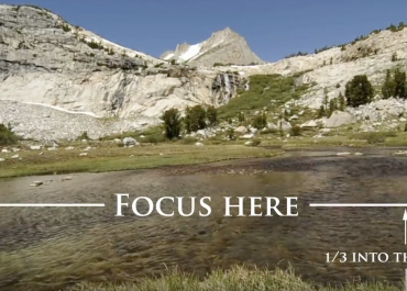 How to focus back and front in landscape photography by Joshua Cripps