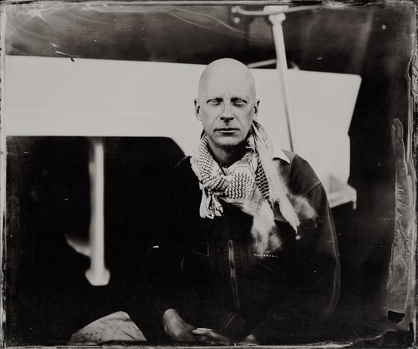 Ambrotype by Jack Lowe