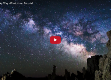 Photoshop Tutorial: How to Edit the Milky Way