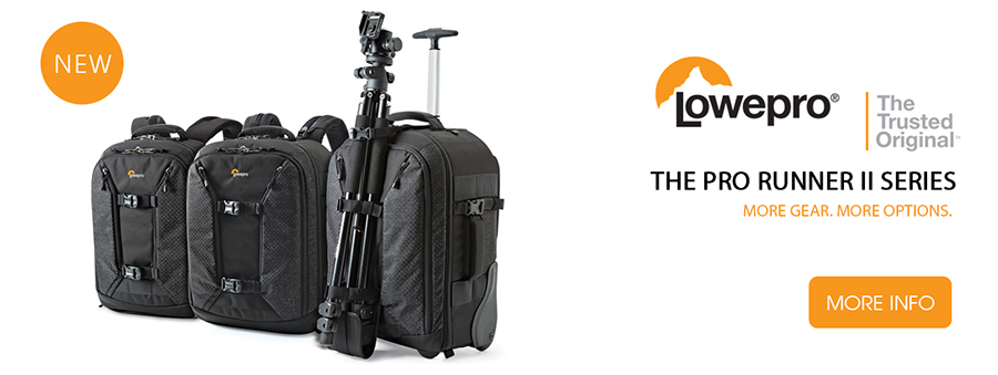 Lowepro Pro Runner II Series on Orms Connect Photographic Blog