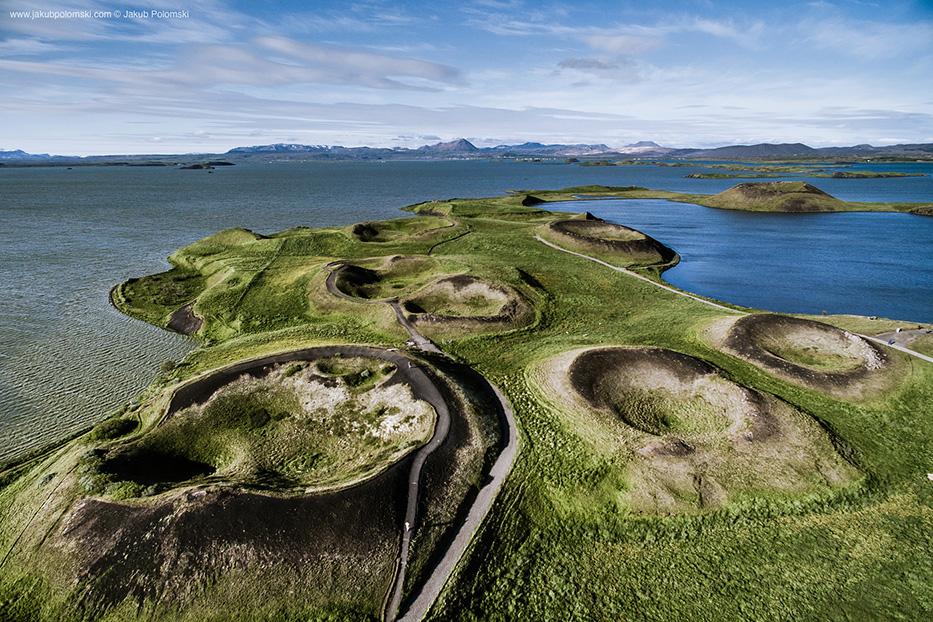 Iceland Aerial Landscapes by Jakub Polomski