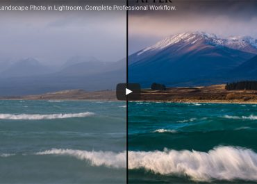 How to process beautiful landscape image using lightroom in under 10 minutes.