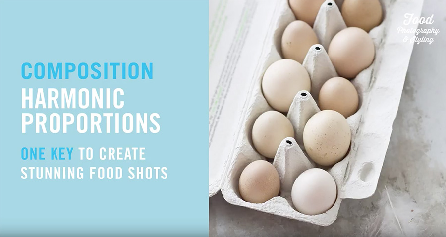 Food photography composition tips on Orms Connect