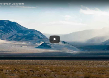 Lightroom Tutorial: How to make a RAW Panorama image