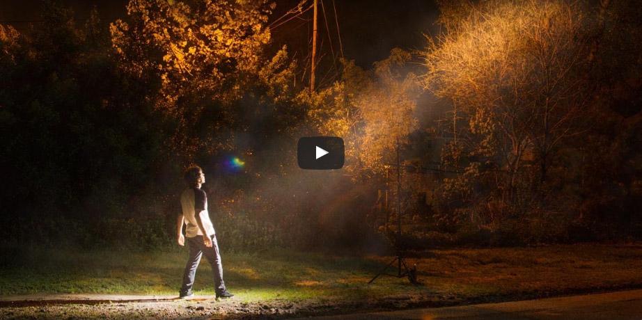 Photoshop Tutorial: Create Beams of Light