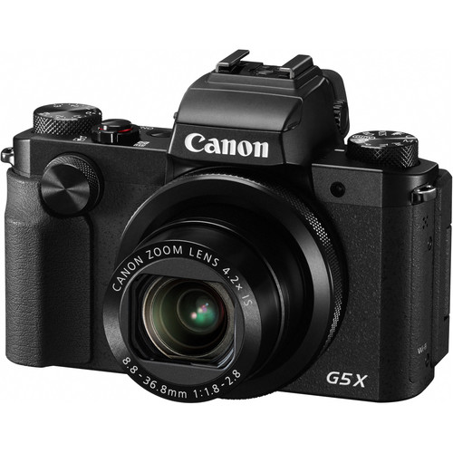 Canon PowerShot G5 X Compact Camera on Orms Connect Photographic Blog